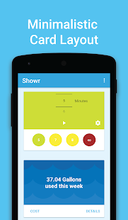 Showr - Smart Shower Timer - screenshot