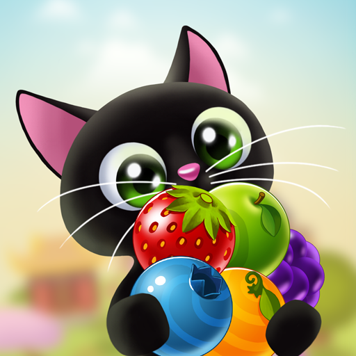 Fruity Cat  - bubble pop (game)