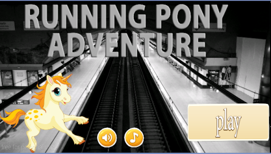 running pony adventure - screenshot