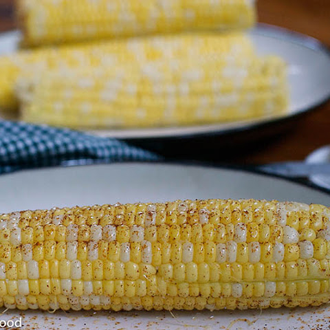 Corn w/ Honey Lime Compound Butter