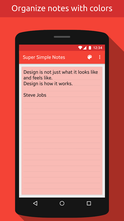 Notes (Super Simple Notes) Screenshot 2