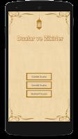 Screenshot of Dualar ve Zikirler