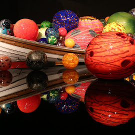 Chihuly Boat by Jeannine Jones - Artistic Objects Other Objects