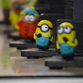 Minions  by Tejz TJ - Artistic Objects Toys ( toy, toys, artistic objects )