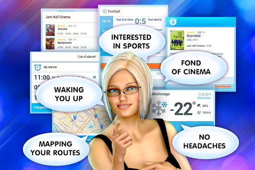 Pocket Blonde Cyber Girlfriend - screenshot