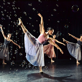 Divertimentos  by Joni Chng - People Musicians & Entertainers ( dancers, stage performances, choreography, ballet, dance )