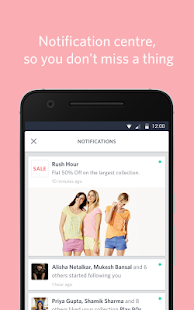 Myntra Online Shopping App Screenshot