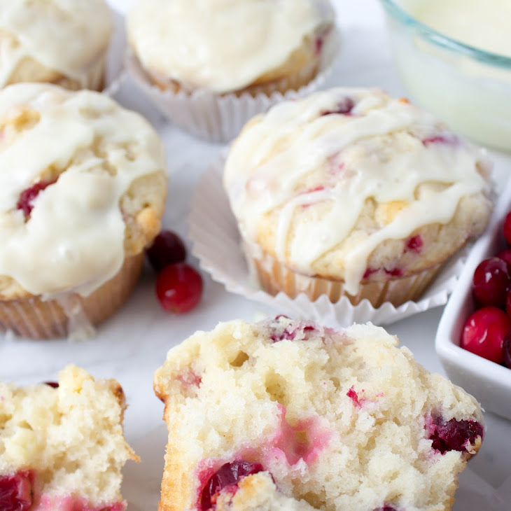White Chocolate Cranberry Muffins Recipe | Yummly