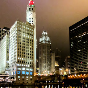 Chicago by Relu Jianu - Buildings & Architecture Public & Historical ( chicago river, chicago, downtown. wgn )