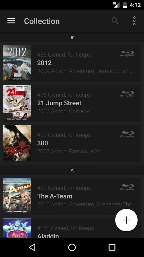 My Movies Pro - Movie & TV Collection Library Screenshot 1