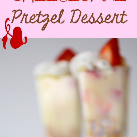 Easy Strawberry Pretzel Dessert