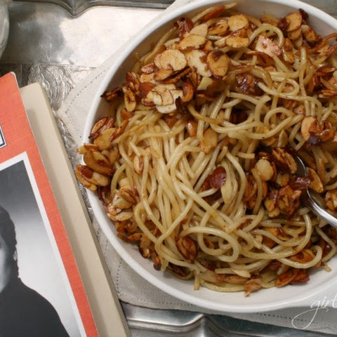 Spaghetti w/ Almonds in Cinnamon Honey Butter