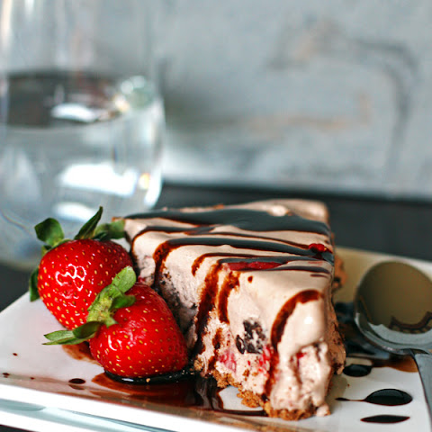 Chocolate Strawberry Ice Cream Pie