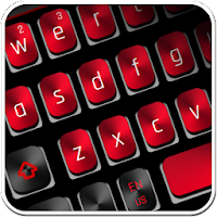 Black Red Keyboard For PC / Windows 7.8.10 / MAC