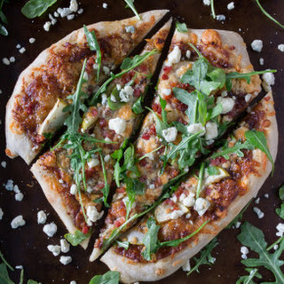 Apple Butter Blue Cheese Pancetta Pizza