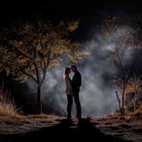 After Dark by Lood Goosen (LWG Photo) - People Couples ( family, night, couple, couples )