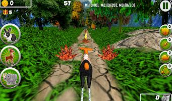 Screenshot of Animal Transformer Run 3D