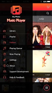 My Photo Music Player- screenshot