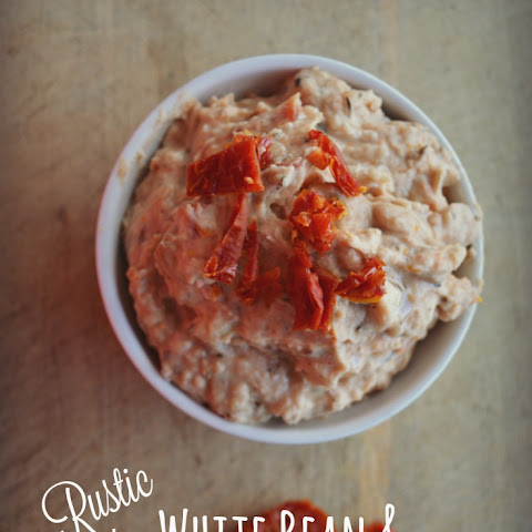 Rustic White Bean and Sun-dried Tomato Dip