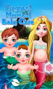 Pregnant Mermaid Baby Care