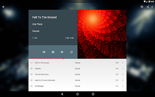 Screenshot of Shuttle Music Player
