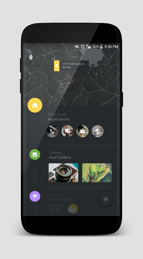 TimelineHome for KLWP Screenshot 4