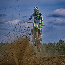 Into The Clumps ! by Marco Bertamé - Sports & Fitness Motorsports ( 171, motocross, speed, clumps, number, race, noise, jump )