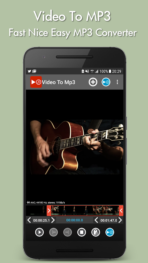 Video to mp3 Screenshot 0