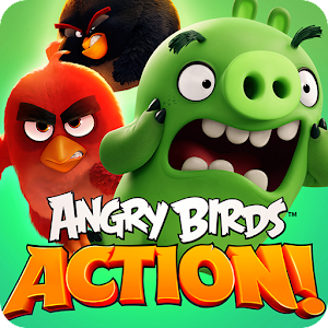 Cover art Angry Birds Action!