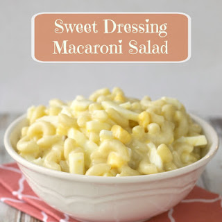 Sweet Dressing Macaroni Salad