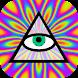 Psychedelic camera image