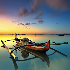 Light Before Time by Agoes Antara - Transportation Boats