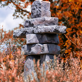 Inukshuk by Dave Lipchen - Artistic Objects Other Objects ( inukshuk )