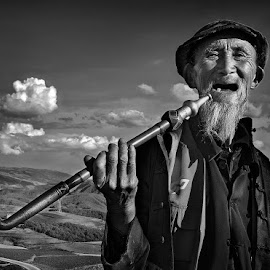 Smile by Pranab Basak - People Portraits of Men ( portrait )