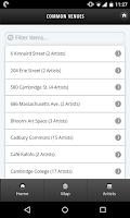 Screenshot of Cambridge Arts Open Studios