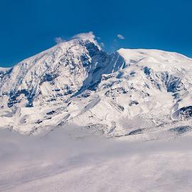 Untitled Alaska by Kelly Maize - Landscapes Mountains & Hills ( mountain, alaska, snow, mountain range, clouds, landscape )