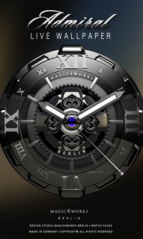 Designer Mega Clock Bundle LWP Screenshot