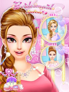 Game Bridesmaid Salon: girls games APK for Windows Phone