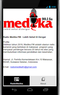 Radio Medika - screenshot