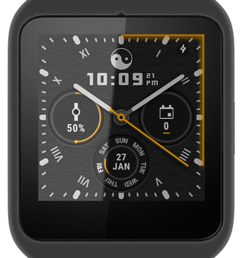 ? Ksana Sweep Watch Face for Android Wear Screenshot 10