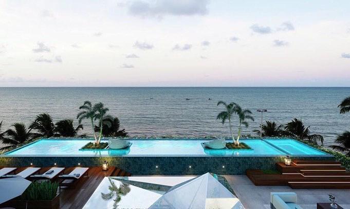 Apartamento com 1 dormitório à venda, 73 m² por R$ 519.704 - Cabo Branco - João Pessoa/PB