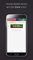 Screenshot of Crafty Clock for Gear Fit
