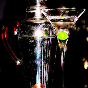 Vodka Martini by Cynthia Magliocco - Food & Drink Alcohol & Drinks ( martini & olive )
