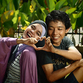 Precious Moment by Aditya Nugraha - People Couples ( couples in love )