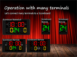 Screenshot of Scoreboard Remote