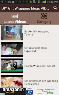 DIY Gift Wrapping Ideas VIDEOs - screenshot