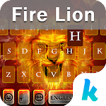 Fire Lion Emoji Kika Keyboard 29.0 Apk