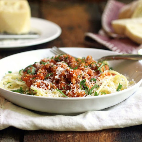 Chicken & Italian Sausage Bolognese