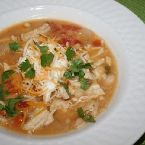 Crockpot Taco Chicken Soup