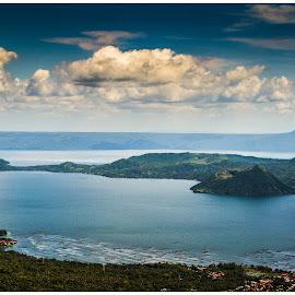 Taal Volcano by Ikko Calzado - Landscapes Travel ( travel photography, outdoors, volcano )